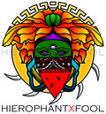 Hierophant/Fool image