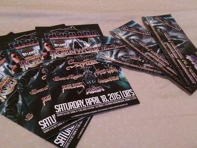 Will Call Ticket for Florida Metal Showcase | April 18, 2015 | OB's, DeLand main photo
