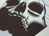 "Sons of Huns ""Willamette Skull"" Silk-screened Poster photo"