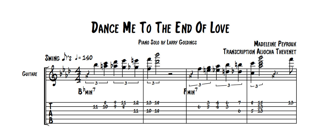 Sing dance me to the end of love by leonard cohen with lyrics on karafun