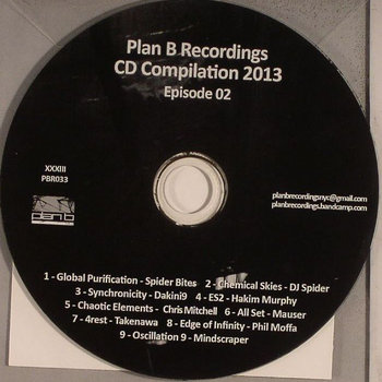 """Plan B Recordings CD Compilation 2013 Episode 02"" (CD Only) cover art"