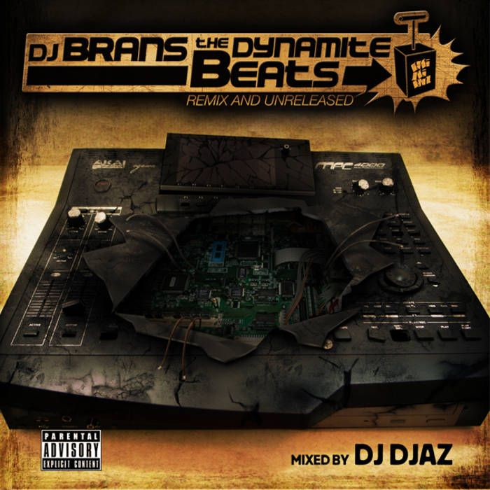 DJ BRANS THE DYNAMITE BEATS cover art