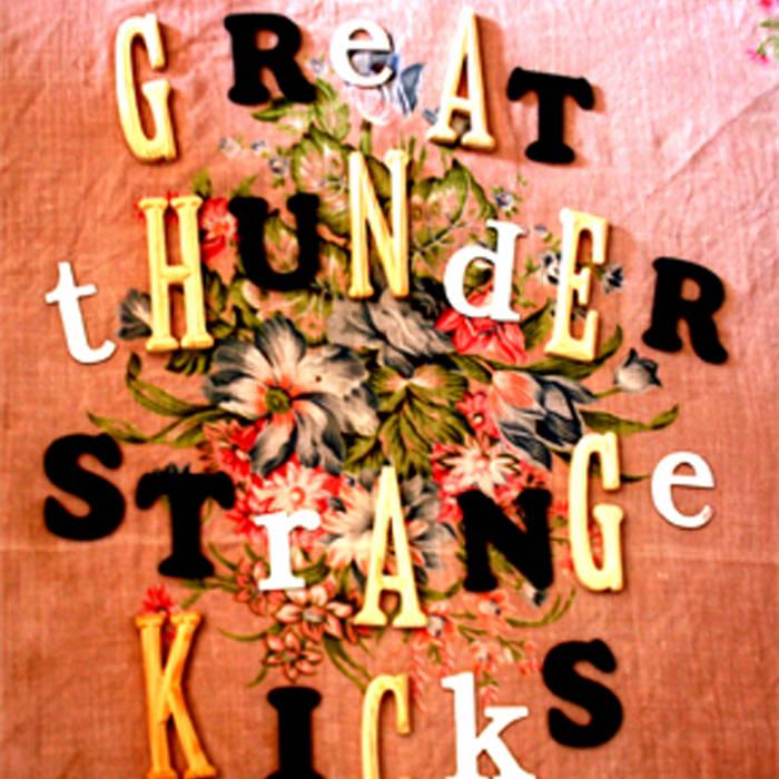 Strange Kicks ep cover art