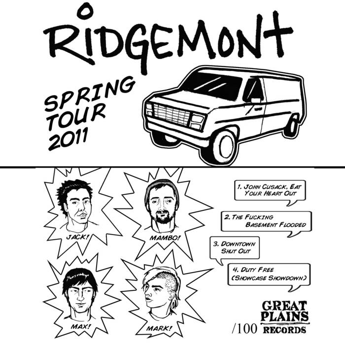 Spring Tour 2011 Tape cover art