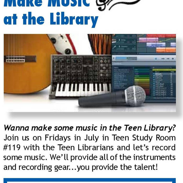 MAKE MUSIC AT THE LIBRARY 2012 cover art
