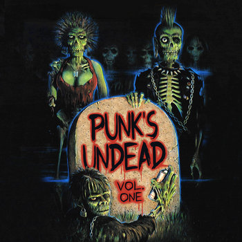 Punk's Undead - Volume 1 cover art