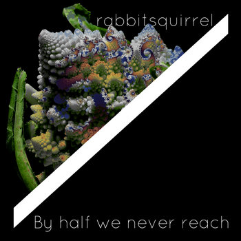 By half we never reach cover art