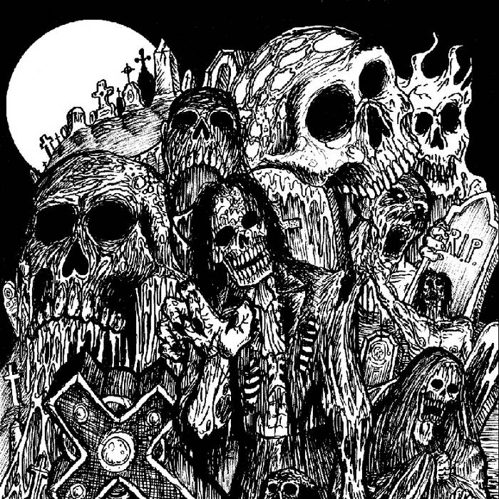 Necrosodomy / Gravecrusher - Eternal Mutilation - Split Tape cover art