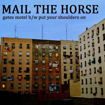 gates motel b/w put your shoulders on cover art