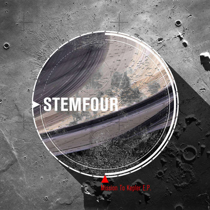 BUB-004 Stemfour - Mission to Kepler EP cover art