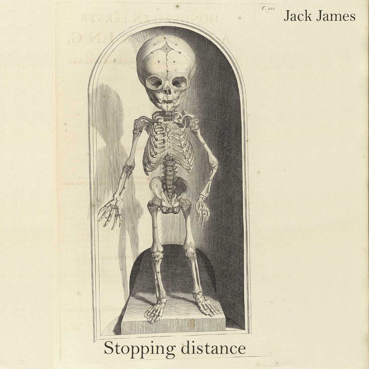 Jack And Jack Distance Album Cover Stopping distance cover art