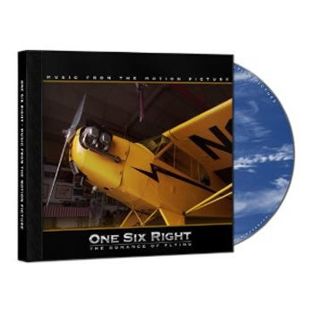"""Flight"" as featured on ""One Six Right"" Soundtrack cover art"
