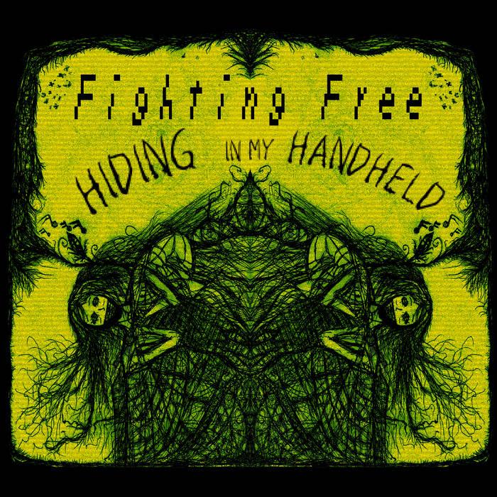 Hiding in my Handheld cover art