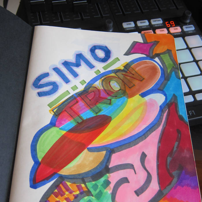 Simotron // Summer * Breaks // Mix cover art