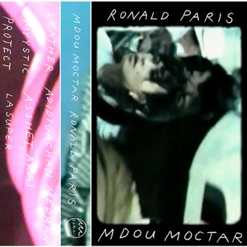 Porches./Mdou Moctar split cover art