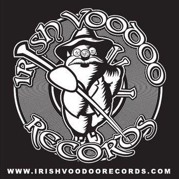"Dead Teeth - ""Revenge"" Irish Voodoo Records 2013 Compilation cover art"