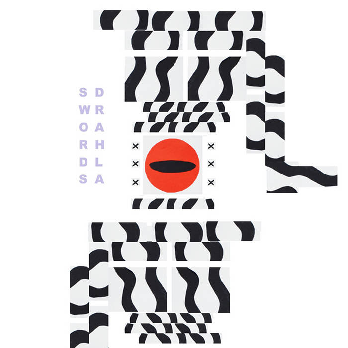 Swords/Drahla Split AA Side cover art