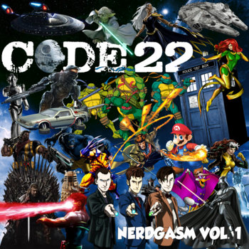 Nerdgasm Vol. 1 cover art