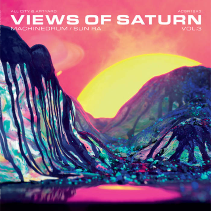 Machinedrum / Sun Ra - Views of Saturn #3 cover art