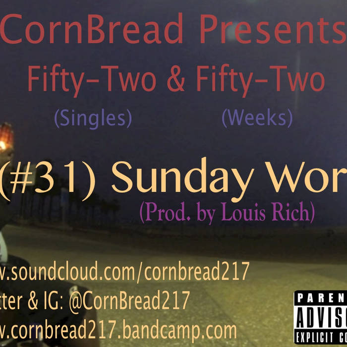 Sunday Work (Prod. by Louis Rich) cover art
