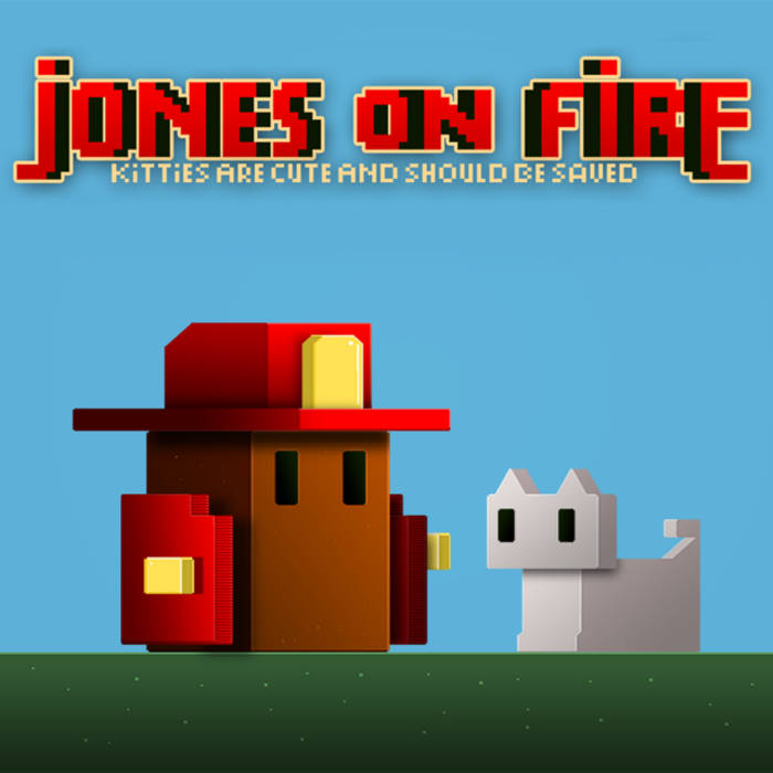 Jones On Fire OST cover art
