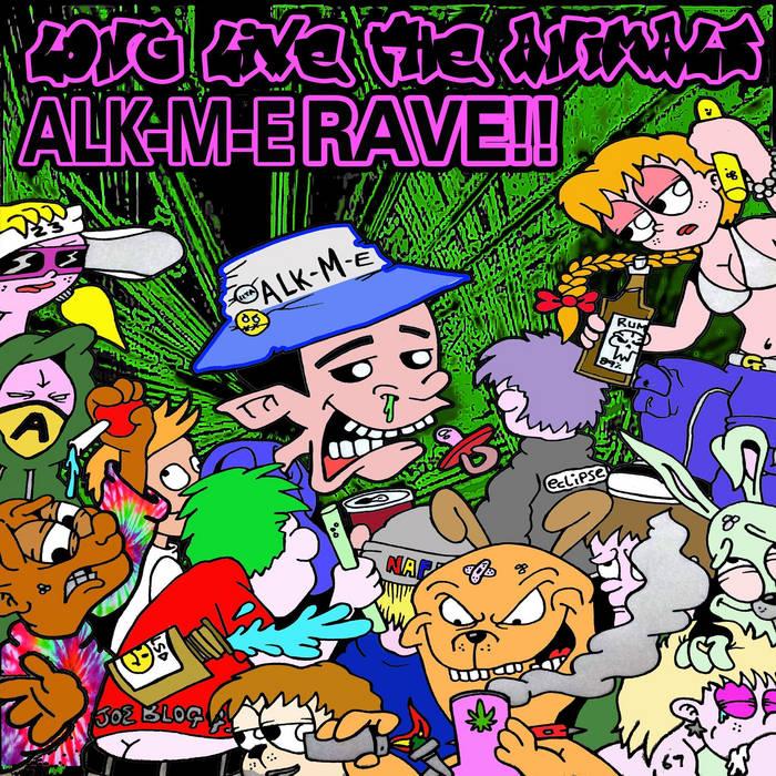 LLTA025 - Alk-M-E - #Rave EP cover art