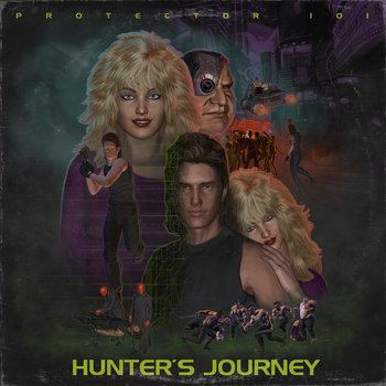 Hunter's Journey - EP cover art