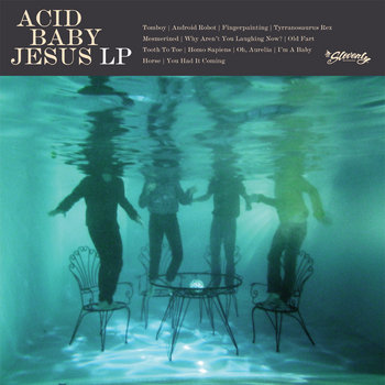 ACID BABY JESUS self-titled LP cover art
