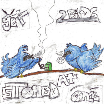 Get 2 birds stoned at once. cover art