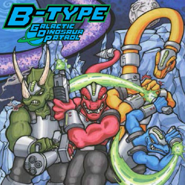 Galactic Dinosaur Patrol cover art