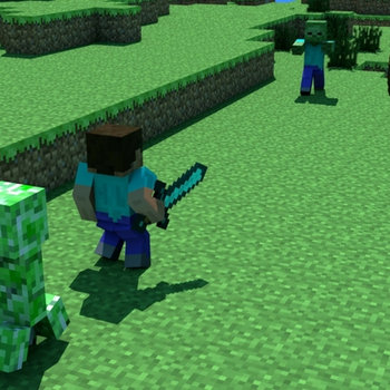 ''Alone'' Minecraft Parody of Maroon 5's Payphone. cover art