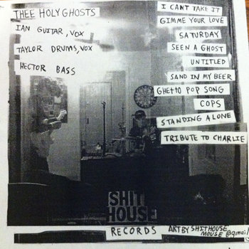 Thee Holy Ghosts EP cover art