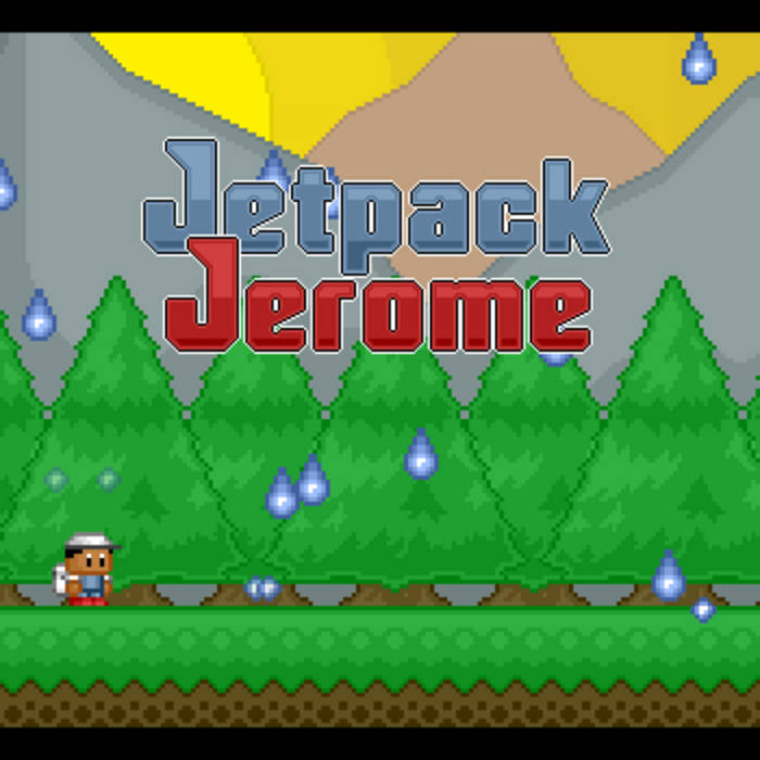Jetpack Jerome Soundtrack cover art