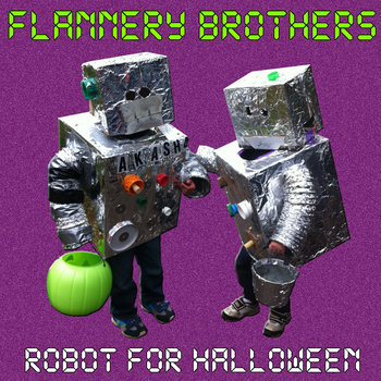 Robot for Halloween cover art