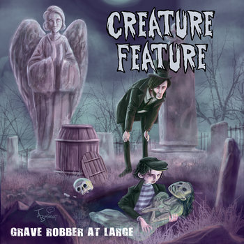 Grave Robber At Large cover art