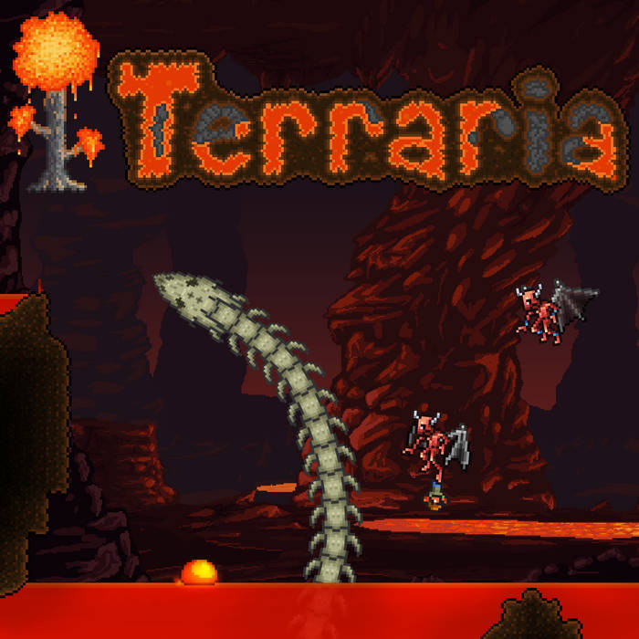 Terraria Soundtrack Volume 3 cover art