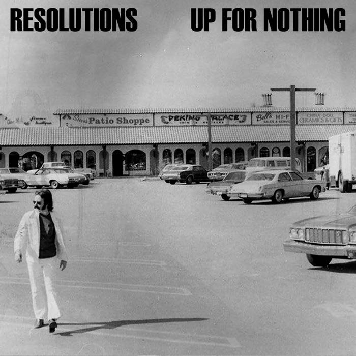 Resolutions / Up For Nothing: Split cover art