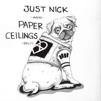 Just Nick / Paper Ceilings cover art