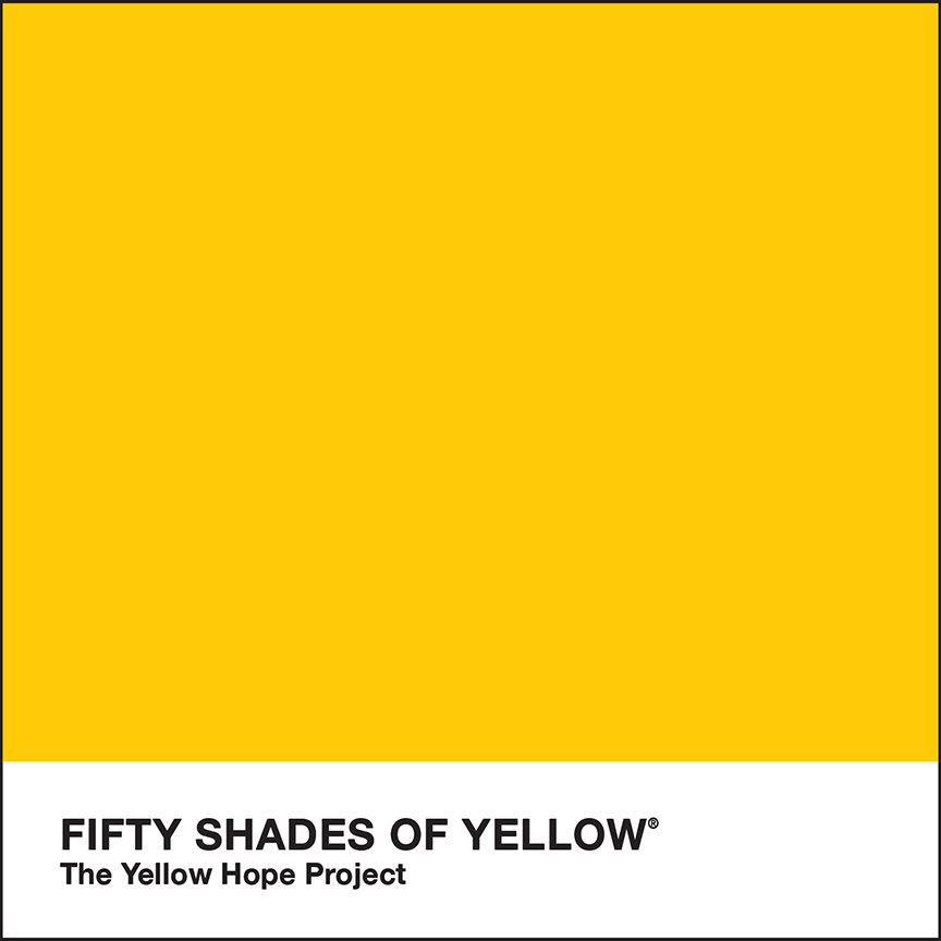 Fifty Shades Of Yellow The Yellow Hope Project