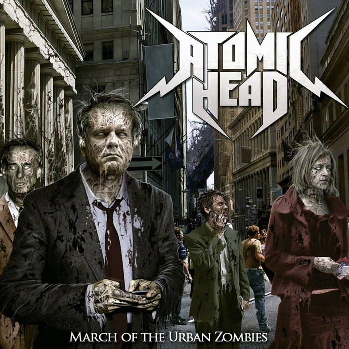 March Of The Urban Zombies cover art