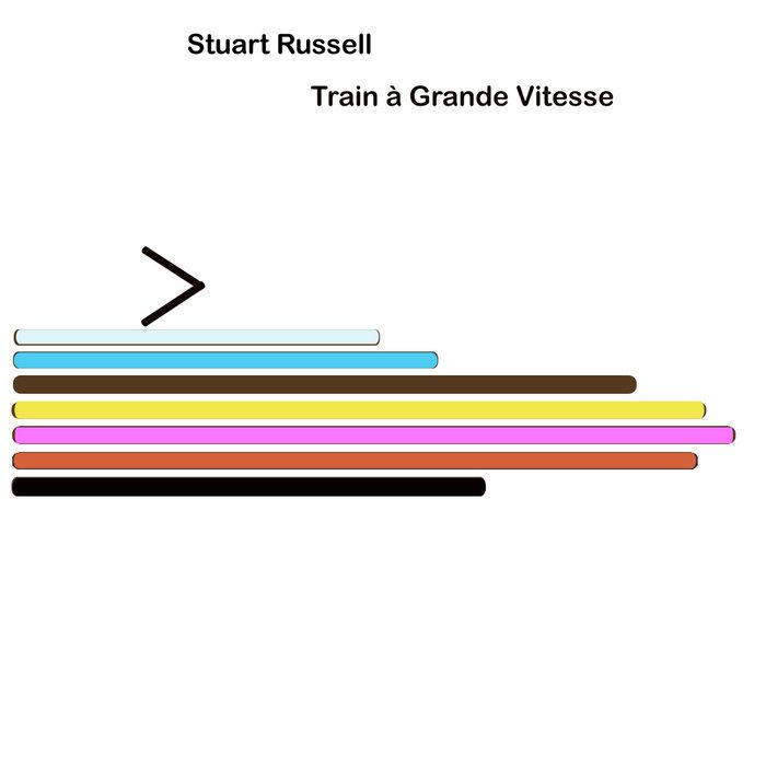 Train à Grande Vitesse cover art