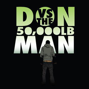 Don Vs. The 50,000 PoundMan cover art