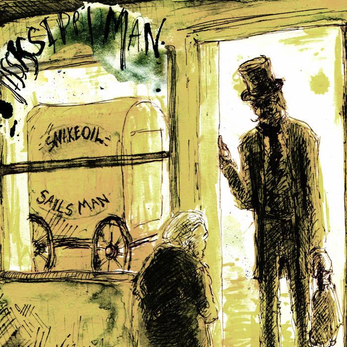 The Snake Oil Salesman cover art