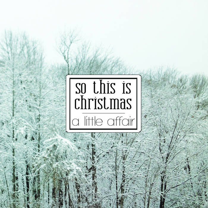 So This Is Christmas cover art