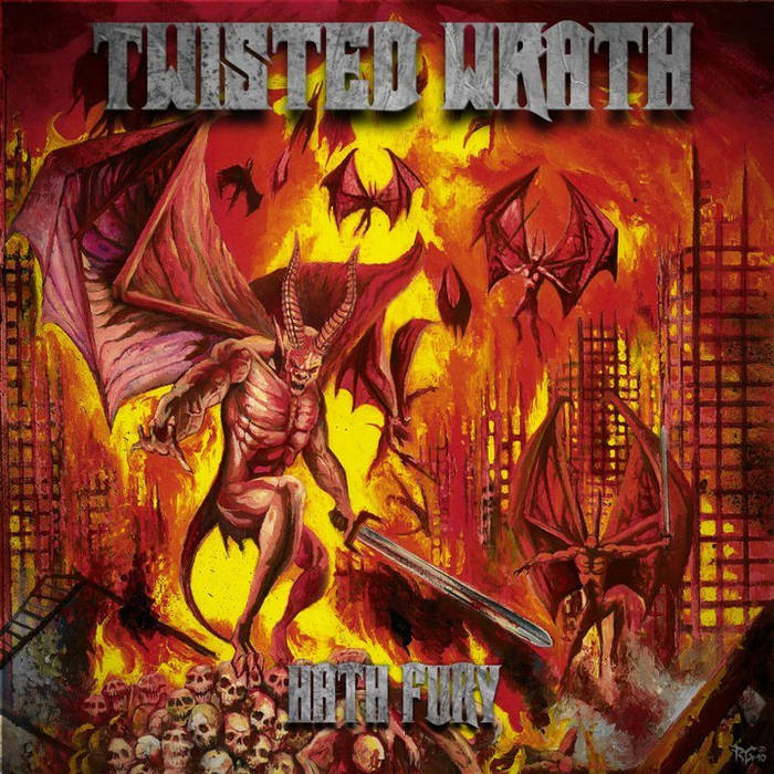 Hath Fury EP cover art