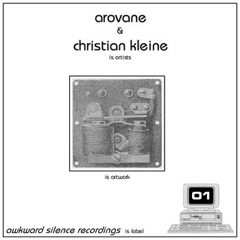 Arovane / Christian Kleine - split EP cover art
