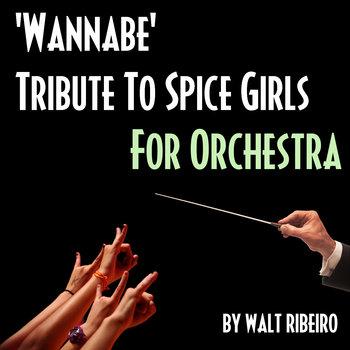 Spice Girls 'Wannabe' cover art