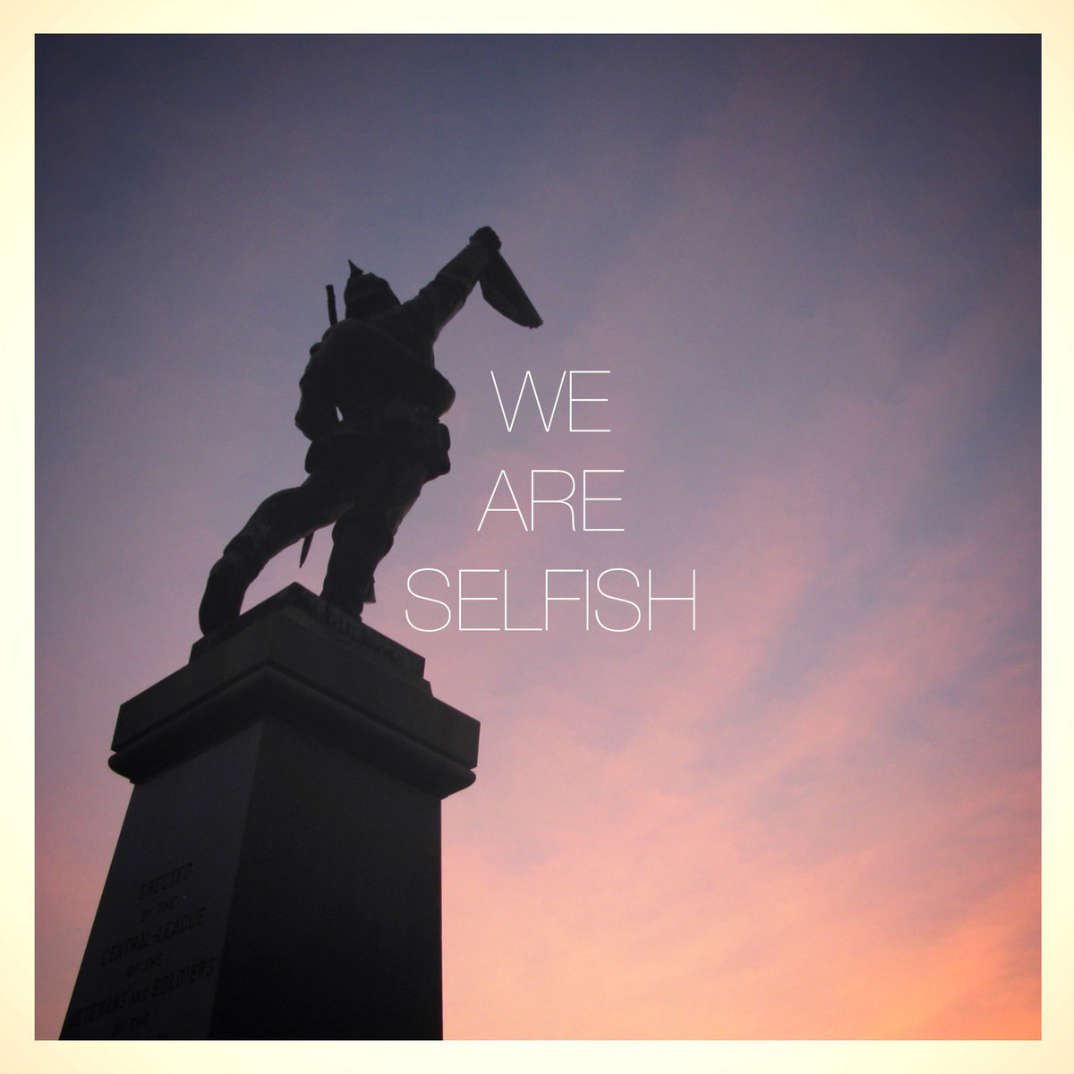 We Are Selfish – the ghost in you