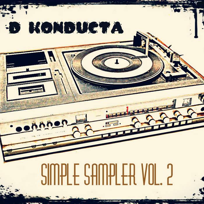 beat tape - Simple Sampler vol.2 cover art