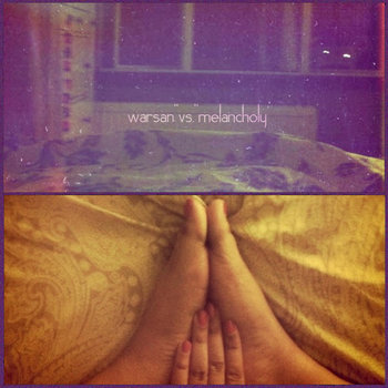 warsan versus melancholy (the seven stages of being lonely) cover art